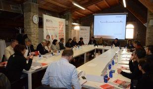 L'acte de presentació de la Taula Competitivitat de Rubí