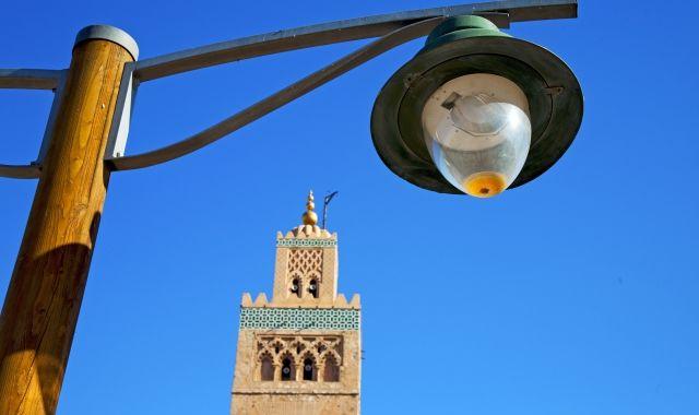 Un llum de carrer de Marràqueix | Acistock