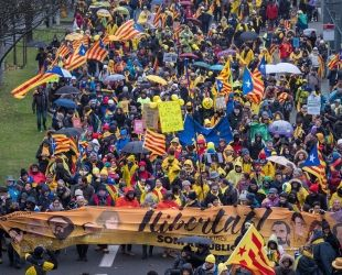 Els empresaris es mostren preocupats per la situació política catalana que ha arribat també a Europa. | Jordi Borràs