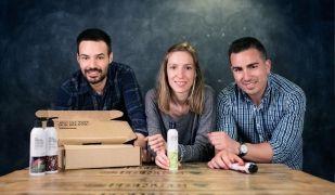 Mireia Trepat, Miquel Antolín i Joan Miralles de Freshly Cosmetics