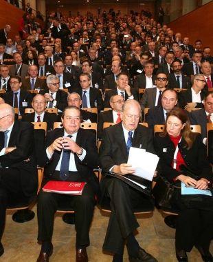 Els empresaris catalans i valencians reunits pel Corredor Mediterrani