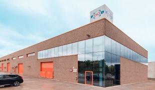 La façana de la planta de Tubing Food