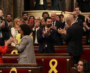 El Parlament català, epicentre de la incertesa política que es viu avui dia a Catalunya | E. Rosanas (ACN)