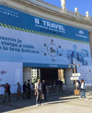 Imatge de la fira B Travel de Fira de Barcelona