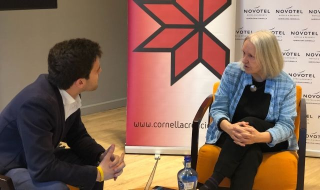 Saskia Sassen is a sociology professor, and won the 2013 Prince of Asturias Prize | Ceded